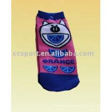 Karikatur niedliche Kinder Socken