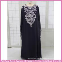 HE3005 Venda quente vestidos de padrão handmade bom para vestido de noite de mulheres muçulmanas para mulheres muçulmanas vestido de dama de honra muçulmano