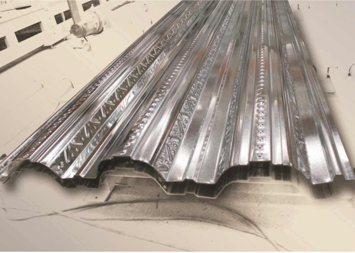 Steel Floor Roll Former