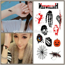 Tema de Halloween, fontes de tatuagem de preço competitivo