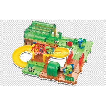 Trains Set Building Blocks Track Toys