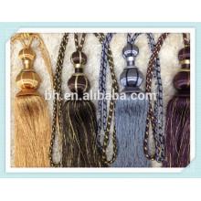 Домашний декоративный занавес Tieback веревка для занавеса, занавес шнур, слепой шнур