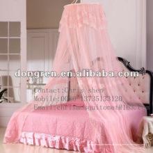 Elegante Runde Spitze Moskitonetz Bett Vordach Netting