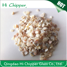 Lanscaping Glass Sand Crushed Glass Chips Decorative Glass Sea Shell