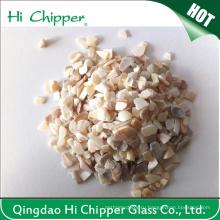 Стеклоочиститель стеклянный песок Щебень стеклянный Декоративное стекло Sea Shell