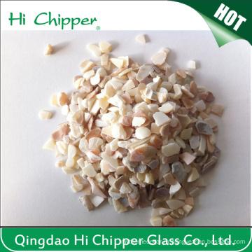 Украшение из дробленого морского стекла Shell Chips