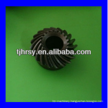 Crown wheel gear for machine