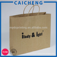 Reasonable price brown kraft paper bag for tea and food