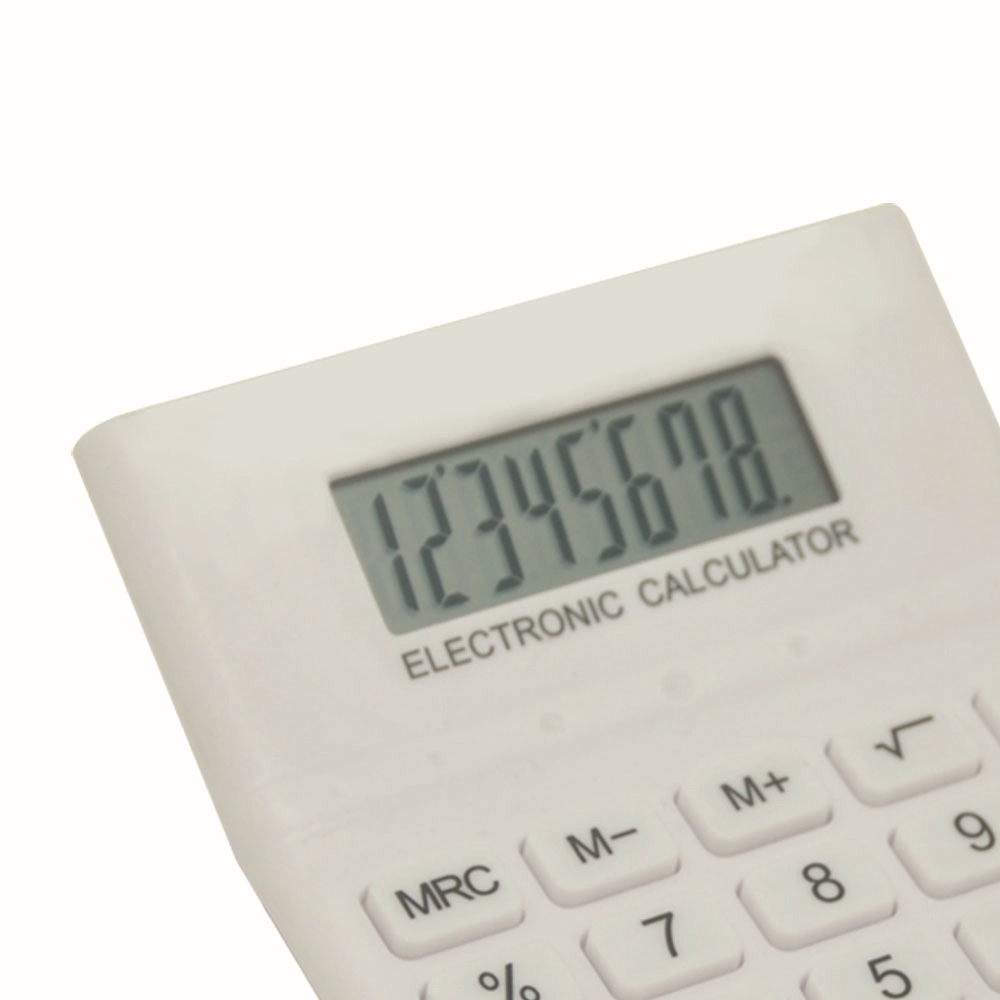 8 Digit Voice Activated Office Desktop Calculator
