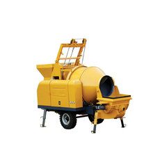 Mortar Concrete Mixer Machine With Pump