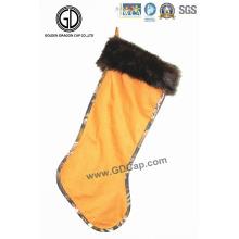 Bolsa de calcetines de decoración de camuflaje de moda de alta calidad con logotipo personalizado