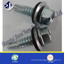 Neoprene Washer Assembled Hex Self Drilling Screw