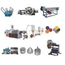 PVC-heiße Ausschnitt-Plastikwiederverwertungs-Maschinen-Linie