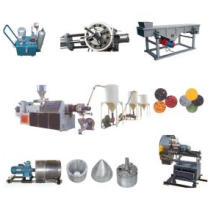PVC Hot Cutting Plastic Recycling Machine Line