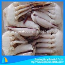 Preis der halb geschnittenen erstklassigen gefrorenen blauen Schwimmen Krabben