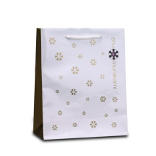 Kepribadian Custom Logo Printing Shopping Paper Bag