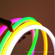 azul verde vermelho flexível impermeável do RGB 5050 o diodo emissor de luz de 360 graus conduziu a iluminação de néon