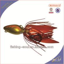 RJL001 chine pêche bon marché en caoutchouc jig pêche leurre
