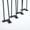 Black Metal Coffee Hairpin Furniture Table Legs