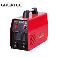 Machine d'équipement de soudage à l'arc à inverseur portable IGBT200