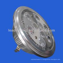 GU10 / GX53 220V-230V9 * 2W bridgelux led AR111 projecteur led 13W