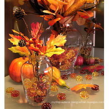 decorative pumpkin acrylic stone vase filler