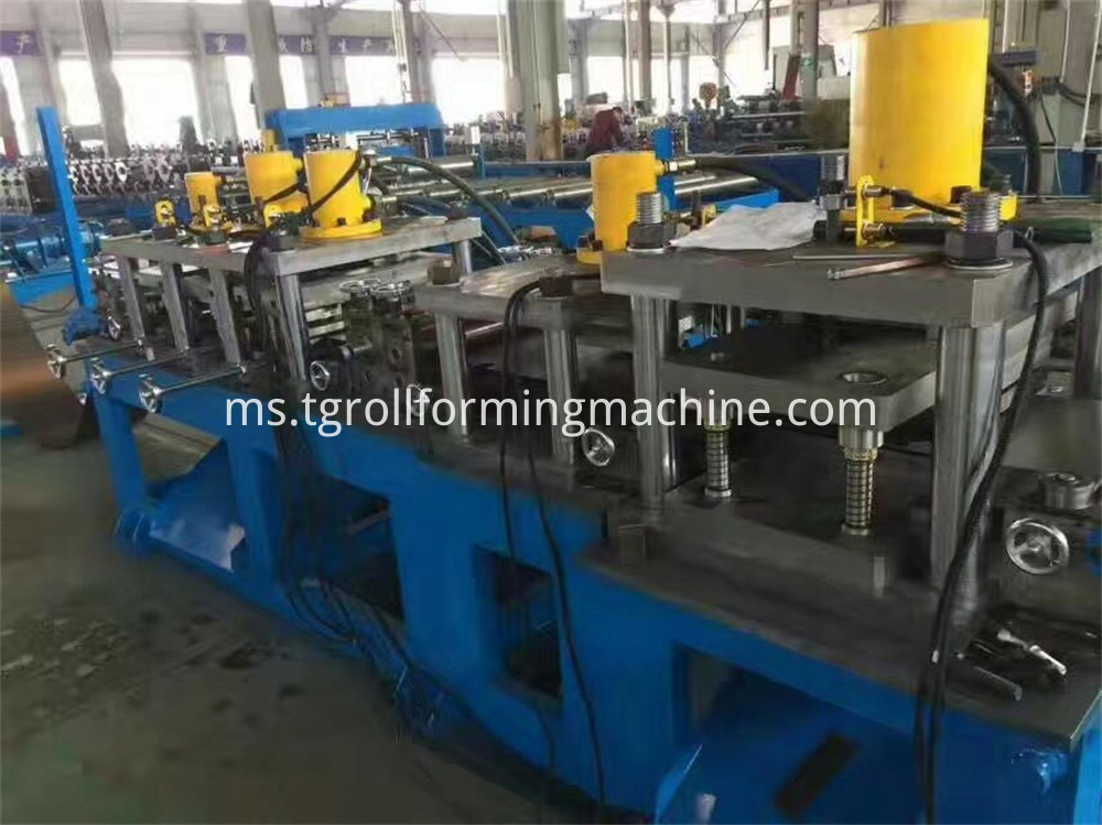 Steel Fence Post Making Machine