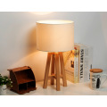 Contemporary Wooden Table Light