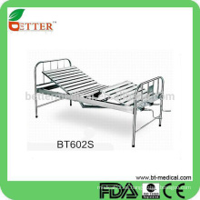 Barato 304 # cama de hospital de acero inoxidable