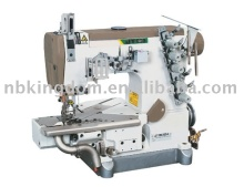 JT999-35ZD Bottom Folding Seam Cylinder Stretch Sewing Machine With Left-cut Tool