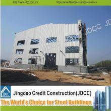 Bâtiment à plusieurs étages de structure en acier légère d'usine de coût bas