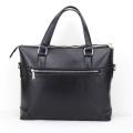 High Quality Men Black Designer Leather Business Handbags