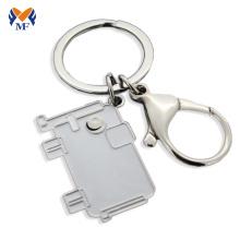 Металлический слон брелок для ключей