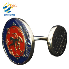 China Factory OEM Cheap Wholesale Metal Cuff Link