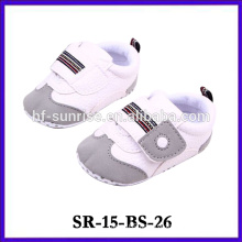New product cute pattern leather baby shoe