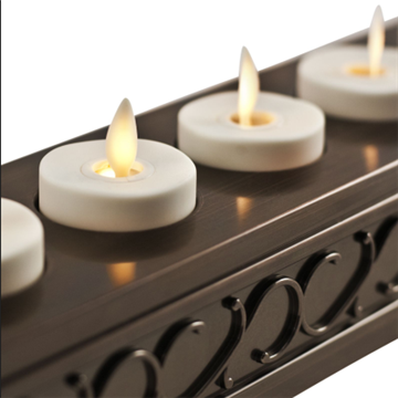 decorative flicker votive candles