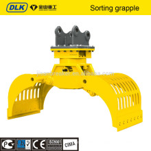 Hydraulic Demolition grapple and Sorting Grapple for 17-23 ton excavator