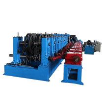 Rolo de calha ajustável dá forma à máquina pela caixa de engrenagens