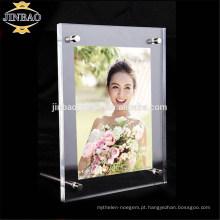 Jinbao Nova Maquiagem Cosméticos Organizador caixa caso acrílico display