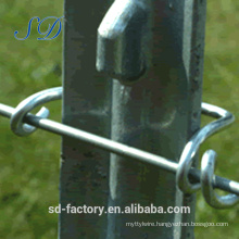 Alibaba Express Made in Hebei Studded Steel T Post for American Market