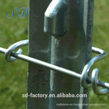 Alibaba Express hecho en Hebei Studded Steel T Publicar para el mercado estadounidense