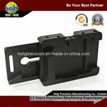 Peças feitas à máquina alumínio de trituração personalizadas do CNC para o dispositivo eletrónico