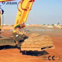 Tenedor de elevación YUCHAI, tenedor de plataforma para excavadora