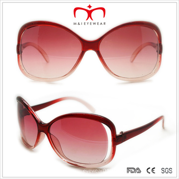 Fashion Butterfly Shaped Ladies Plastic Sunglasses (WSP508240)