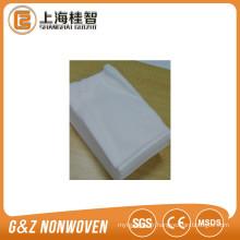 Lingettes en non-tissé de viscose / polyester 80pcs / sac paquet unique