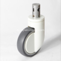 8 Zoll Solid Stem Swivel PU-Material Medical Caster