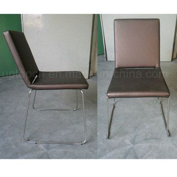 General Use Good Quality Leather Chair with Chrome Leg (SP-LC239)