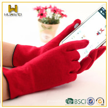 Wholesale cheap wool gloves women touch screen gloves for Ipad or Iphone