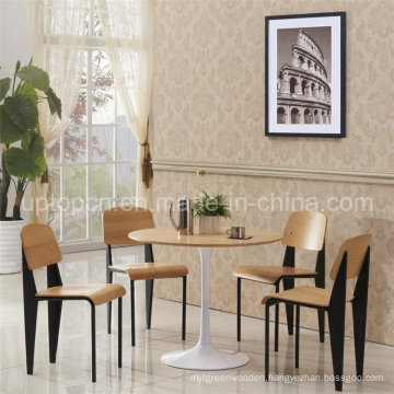 Restaurant Wooden Dining Room Tulip Table Chair Set (SP-CT668)