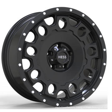 BY-1472 New design 5 hole 18 inch ET 30 PCD 112 die casting alloy wheel for car